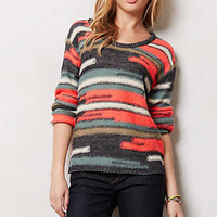 Anthropologie - Staggered Stripe Pullover