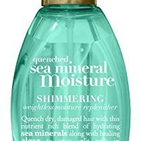 Ogx Quenched Sea Mineral Shimmering Weightless Moisture Replenisher-4 oz