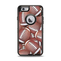 The Football Overlay Apple iPhone 6 Otterbox Defender Case Skin Set