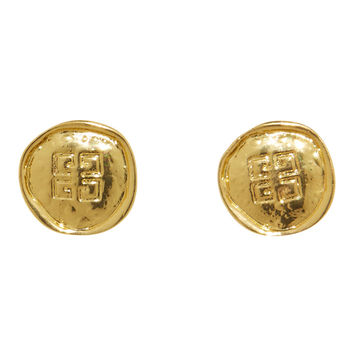 Givenchy Gimme Coin Earrings - Gold