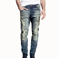 Tapered Low Jeans - from H&M
