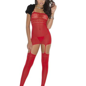 Red Lingerie Lace