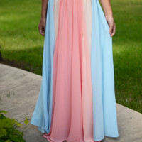 Dance Away Maxi Skirt