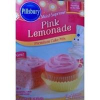 Pillsbury Moist Supreme Pink Lemonade Flavored Premium Cake Mix