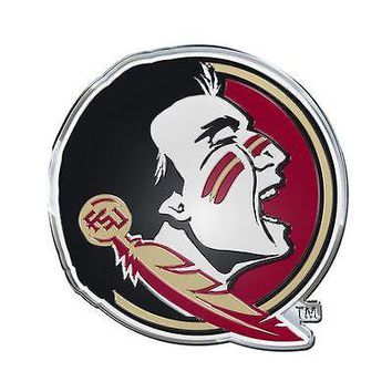 Florida State Seminoles Emblem Auto Car Accessories Chrome Team ProMark NCAA