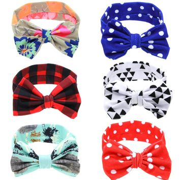 Girls Turban Knot Headbands Baby Hair Accessories / 9 color choices