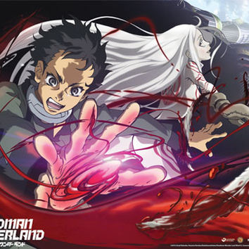 Deadman Wonderland Ganta & Shiro Wallscroll