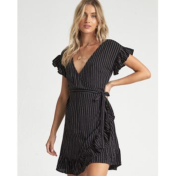Wrap and Roll Dress