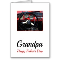 Grandpa Happy Father's Day Greeting Card