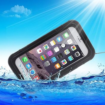 Waterproof Dustproof PC Silicone Case for iPhone 6 Plus 6s Plus for Sony Xperia XZ Z5 XA M5 for Samsung Galaxy A5 2017 J7 Prime