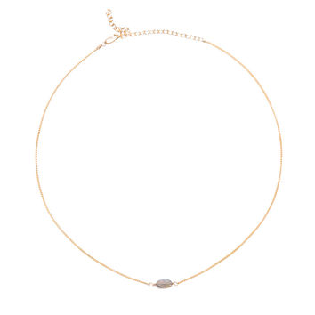 Year 901 Oval Gold Choker