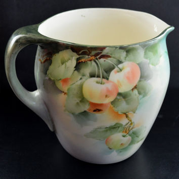 Lenox American Belleek Apple Cider Pitcher Arts & Crafts Period