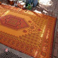 Outdoor Rug Oriental Design