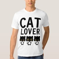CAT LOVER t-shirts, Funny Tees