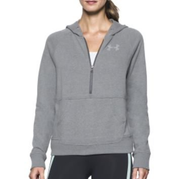 Under Armour Favorite Fleece Half Zip Hoodie | DICK'S Sporting Goods