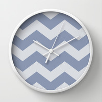 Stormy Weather Wall Clock by The Dreamery | Society6