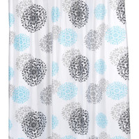 Isabella Fabric Shower Curtain