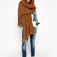 ASOS | ASOS Oversized Knit Scarf at ASOS