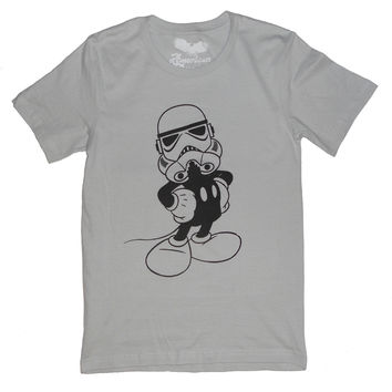 Mickey Mouse Star Wars T-Shirt by American Anarchy Brand