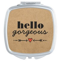 Hello Gorgeous - Rustic Flattering to Every Face Mirror For Makeup