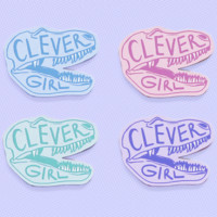 Clever girl brooch