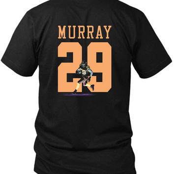 Demarco Murray Cowboys 2 Sided Black Mens T Shirt