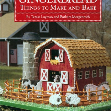 Book - Gingerbread, Things to Make and Bake by Layman and Morganroth