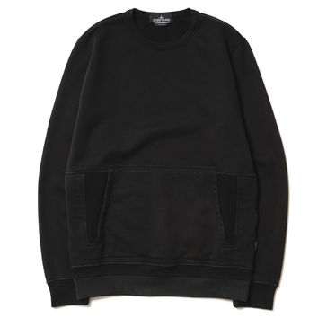Crew Neck_Co Felpa Nero