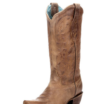 Corral Women's Vintage Tan Cowhide Boot - C1928