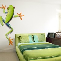 Tree Frog - wall art decals peel and stick self adhesive
