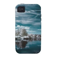 Turquoise Serenity iPhone 4/4S Case