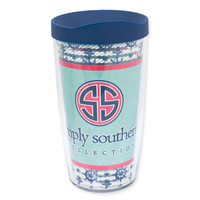 16oz Simply Southern Ocean Whale Tervis Tumbler