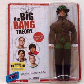 Big Bang Theory Raj Gentleman 8-Inch Comicon Exclusive Renfaire Action Figure