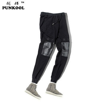 High Street Pu Leather Mens Joggers Pants