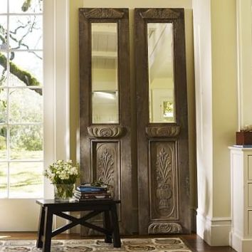 Carved Door Mirror | Pottery Barn