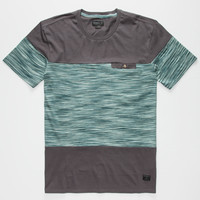 O'neill Ya Mate Mens Pocket Tee Charcoal  In Sizes