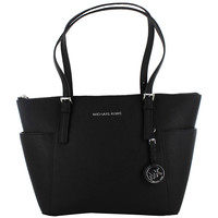 Michael Kors Jet Set Women's East West Zip Tote Handbag Bag