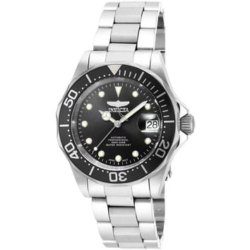 Invicta Men's 17039 Pro Diver Automatic 3 Hand Black Dial Watch