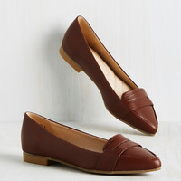 Wake Me When It's Loafer | Mod Retro Vintage Flats | ModCloth.com