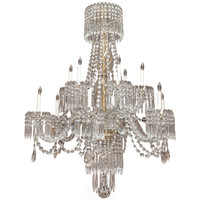 Antique French Belle Epoque Finest Baccarat Crystal Chandelier