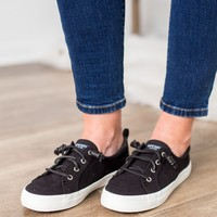 Sperry - Crest Vibe Linen In Black