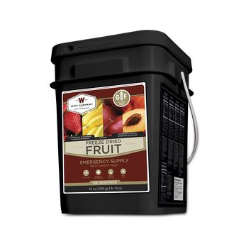 Freeze Dried Fruit - 152 Servings  GLUTEN FREE