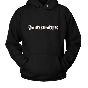 ESBP7V Why So Serious Joker Hoodie Two Sided