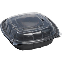 Sabert 1000728 8X8X2.5 Hinged Container 138/Case