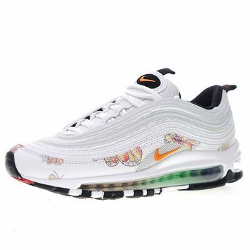 "Nike Air Max 97 ""White Flowers"" Women Sneaker 921733-101"