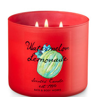 Watermelon Lemonade 3-Wick Candle | Bath And Body Works