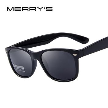 Men's Classic Retro Rivet Polarized Sunglasses
