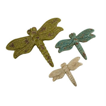 3 Dragonflies - Distressed