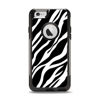 The Simple Vector Zebra Animal Print Apple iPhone 6 Otterbox Commuter Case Skin Set