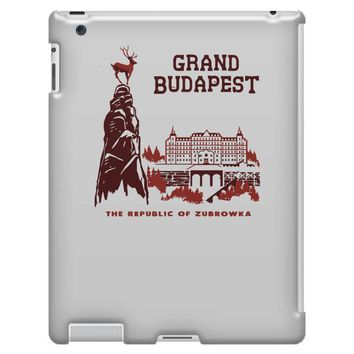 grand budapest hotel iPad 3 and 4 Case
